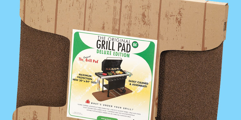 The Original Grill Pad Deluxe Edition
