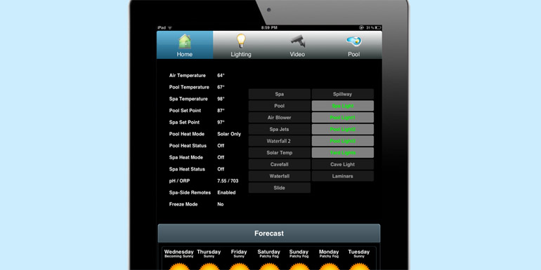 ScreenLogic2 Automatic Pool Spa Control