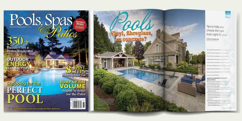 The 2018 annual issue of <em>Pools, Spas &amp; Patios</em> will be available at several major newsstand outlets on May 28.