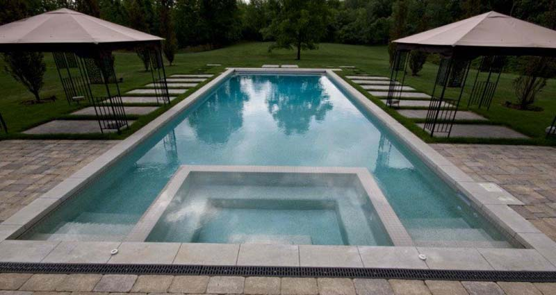 Pool project by Oasis Pools Ltd.
