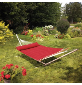 Basketweave Hammock, $200, canadiantire.ca