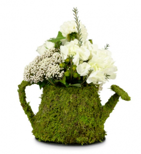 Lillian Rose Moss Watering Can, $12, bedbathandbeyond.ca