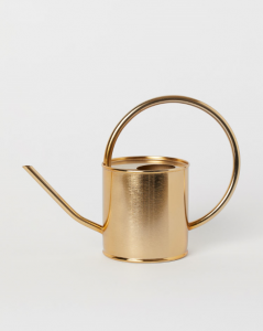 Metal Watering Can, $30, hm.com
