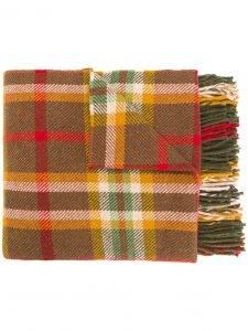 HOLLAND & HOLLAND checked blanket, $1358, farfetch.com