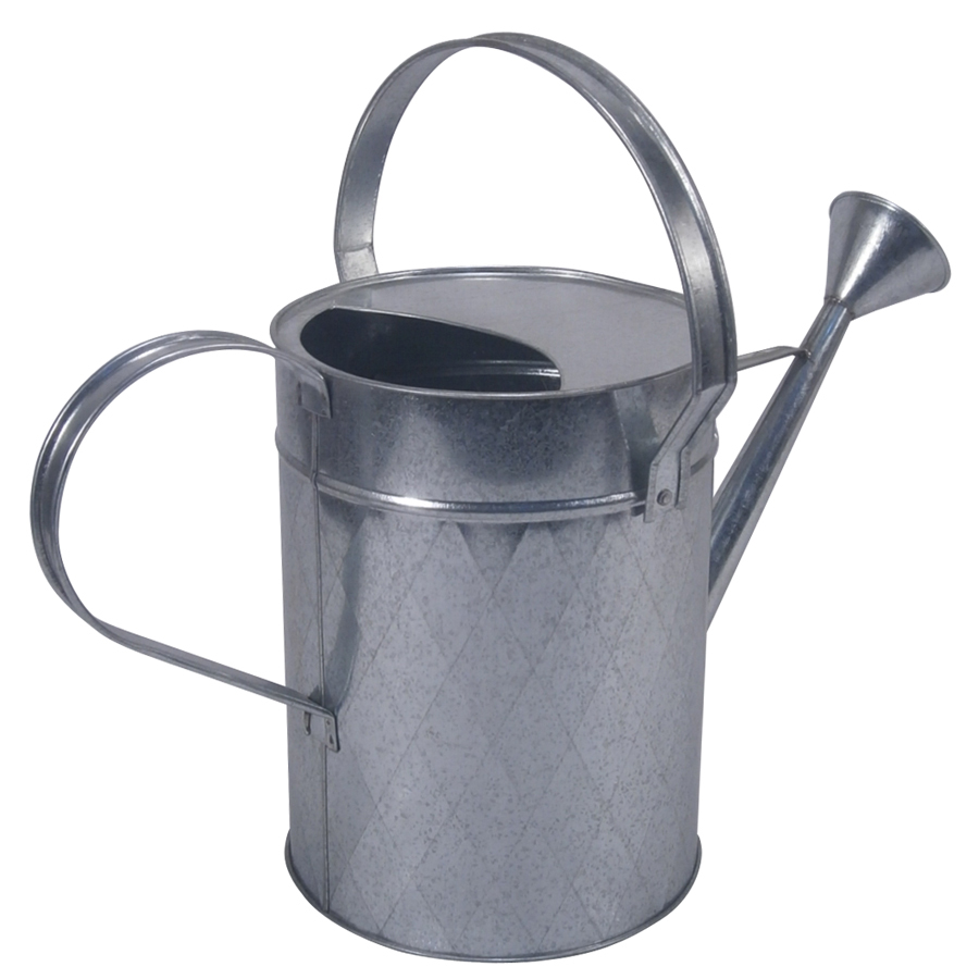 1.8-Gallon Galvanized Metal Traditional Watering Can, lowes.com