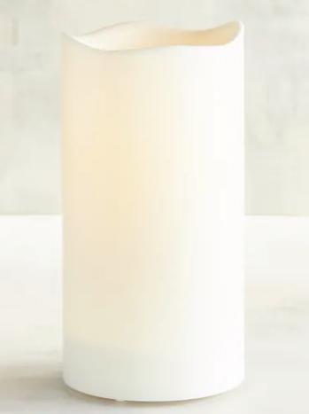 Deco Wick LED Outdoor Pillar Candles, $16, pier1.com