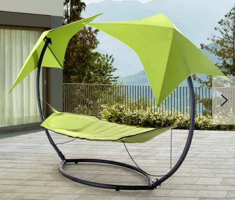 Jedicke Skylight Polyester Camping Hammock with Stand, $640, wayfair.ca