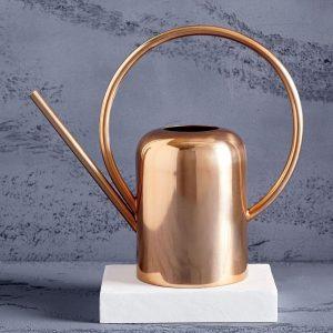 Modern Copper Watering Can, $99, westelm.ca