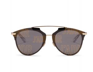 Logos: DiorReflectedP Aviator Sunglasses, $605, holtrenfrew.com
