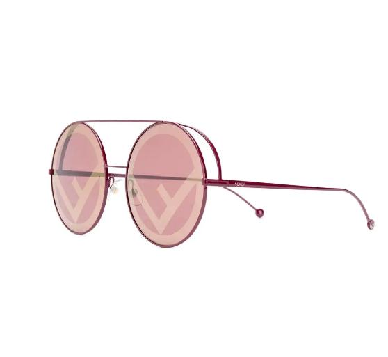 Logos: Fendi Eyewear Runaway sunglasses, $719, farfetch.com