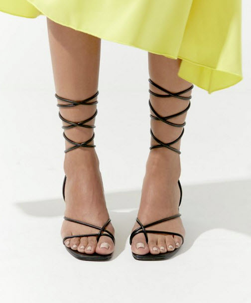 Strappy: Alexa Strappy Sandal, $59, urbanoutfitters.com