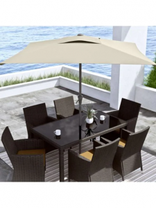 Corliving Square Patio Umbrella, $120, thebay.com
