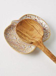 Heirloom Pumpkin Spoon Rest, $10, anthropologie.com