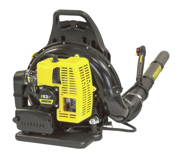 Champion 63.3cc Gas Backpack Leaf Blower, $350, canadiantire.ca