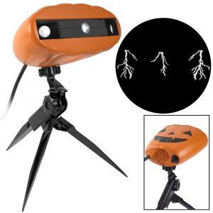 Halloween ThunderBolt LightShow Projection, $25, homedepot.com