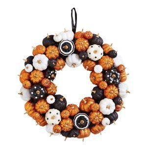 Multicolor Mini Pumpkins Wreath, $52. pier1.ca