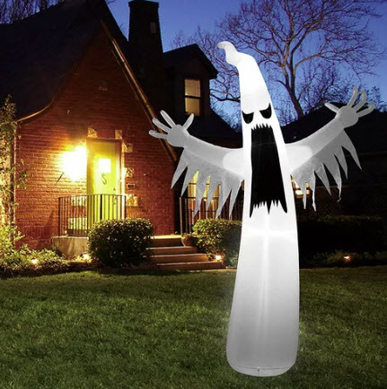 Halloween Towering Spooky Ghost Inflatable, $124, wayfair.ca