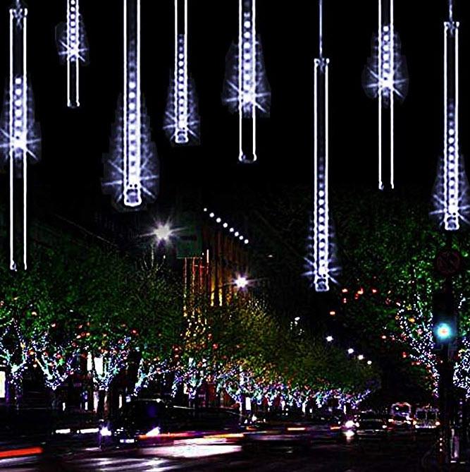 YSIM Meteor Shower Rain Lights, $21, amazon.ca