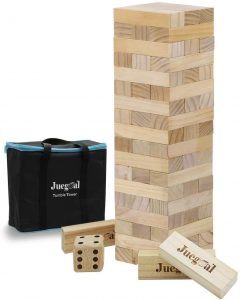 Giant Tumble Tower Blocks Game, $45, amazon.com